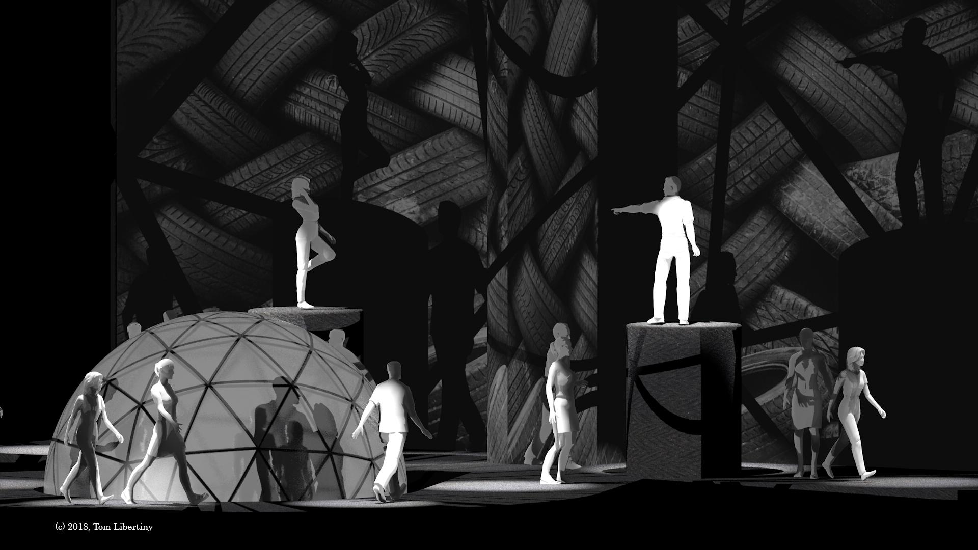 Ankh Concept Concept | Tom Libertiny Visualization artist | Daira Zhestyreva